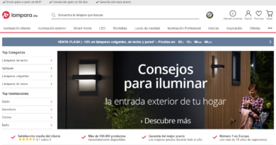Lampara.es, códigos descuentos en lámparas e iluminación para hogar u oficina