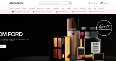 Lookfantastic, descuentos constantes en productos de belleza y cosmética para mujer y hombre