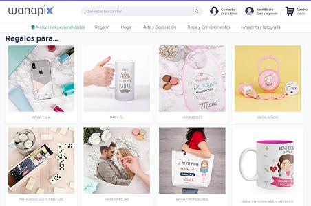 Wanapix.es, código descuento del 15% en productos personalizados, regalos originales e imprenta online
