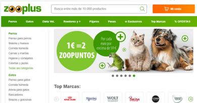 Zooplus.es, cupon descuento del 10% en tienda para mascotas