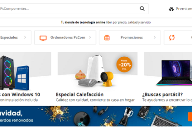 PcComponentes.com, ofertas e ideas para regalar en informática y tecnología