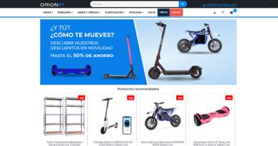 Orion91.com, código descuento 10% para productos de su tienda online