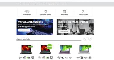 Acer, descuentos de hasta 200€ dto. en la informática de su tienda online